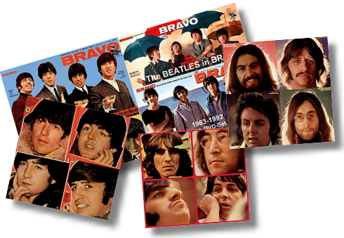 Die Beatles in BRAVO