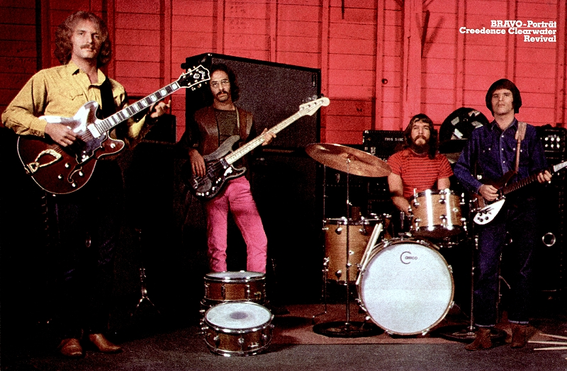 Resultado de imagen de creedence 1970